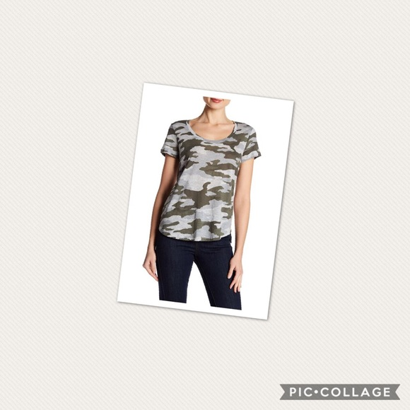 c23bacbe9d731 Two by Vince Camuto Tops | Nwt Vince Camuto Camo Tshirt | Poshmark